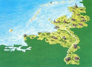 (Source: china.eu) This is how the Netherlands would look without the complex system of dikes!