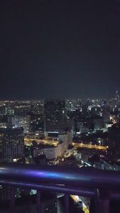 Bangkok from 47 stories up