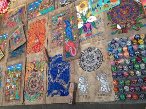 Art for sale in the Zocalo